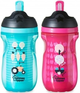 Tommee Tippee Чаша ACTIVE STRAW 300мл.