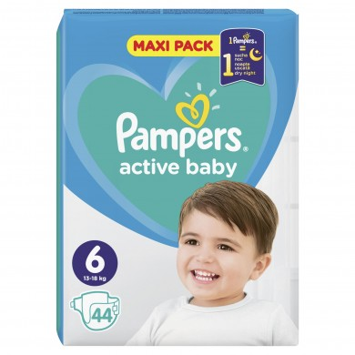 Pampers Activ Baby 6 (13-18кг.) 44бр.
